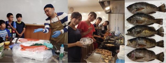 雑魚食堂での研修プログラム